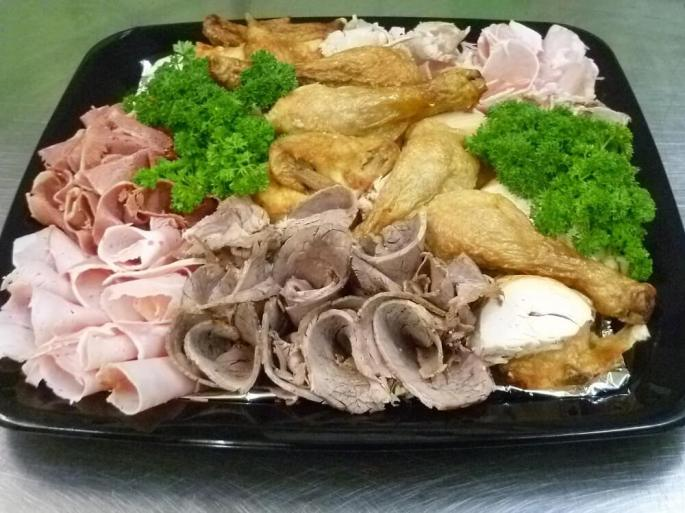 cold meats catering platter