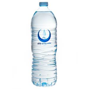 Still Spring Water (1.5 litres) $4.50 per bottle