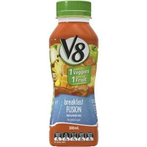 Fruit & Veggie Juice - Breakfast Fusion (300ml) $4.50 per bottle