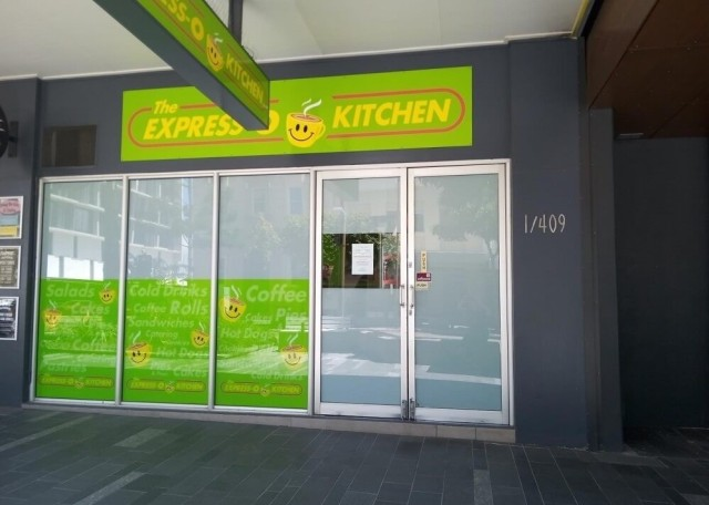 Express-O Kitchen shop premises at 1/409 Flinders Street, Townsville City