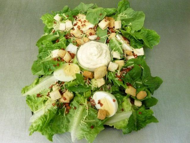 Caesar Salad catering platter