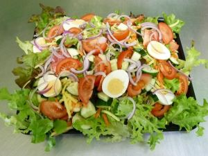 Garden Salad catering platter
