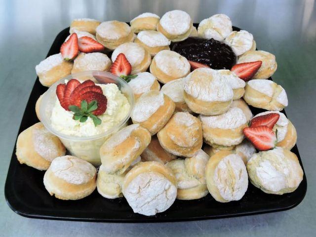 scones catering platter
